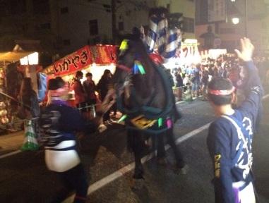 ボシタ祭り 馬