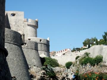 クルーズ205ドブロブニク城壁