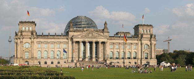 1280px-Reichstag_panoドイツ国会議事堂