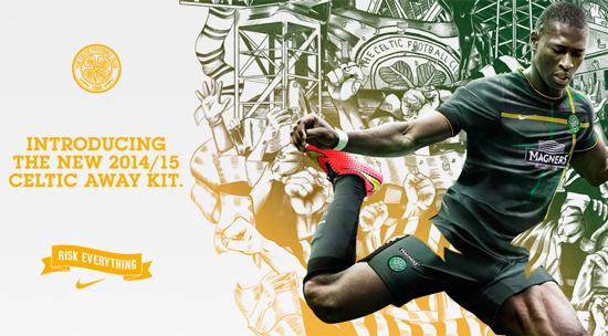 Celtic 2014-15 Nike Away