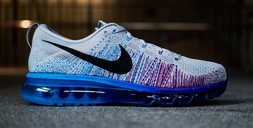 "Nike Flyknit Air Max 2014 Spring ""Grey/Blue"""