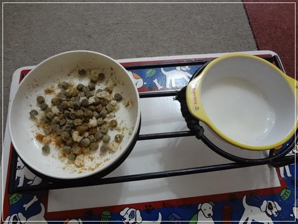 療法食+トッピング&豆乳