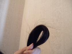 私の髪の毛(4週目)