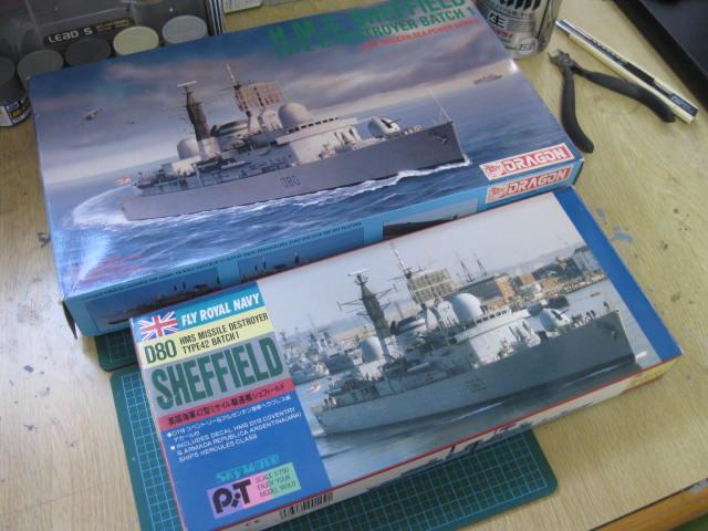 HMS SHEFFIELD の1