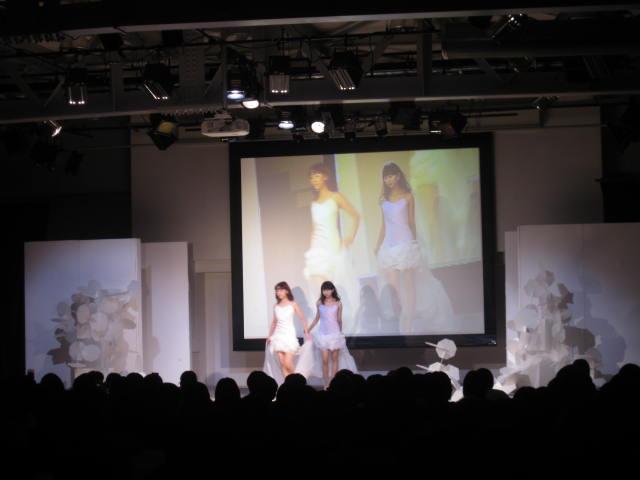 ファッションショー・・・