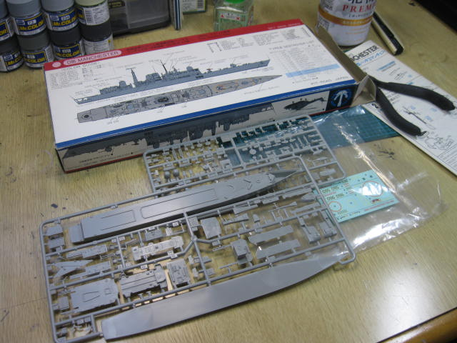 H.M.S MANCHESTER の1