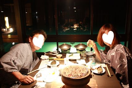 2014百楽荘食事ふたり