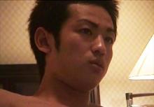 ゲイ動画:ホテルで激烈イケメン豪快オナニーでGO !! 好帥哥
