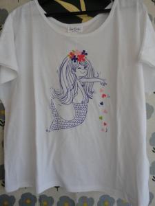 水森亜土 Tシャツ ホワイト