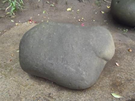 貞吉の力石