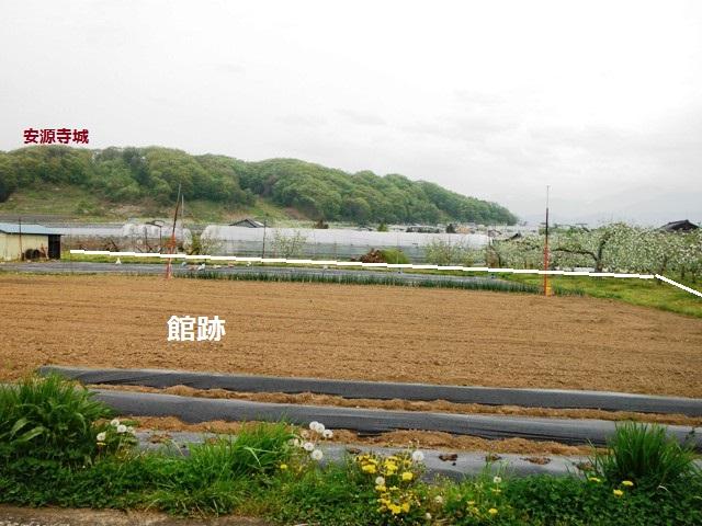 安源寺館(中野市) (1)