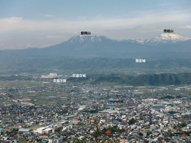 鴨ヶ岳城・鎌ヶ岳城(中野市) (72)