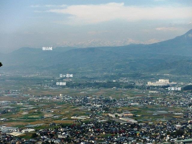 鴨ヶ岳城・鎌ヶ岳城(中野市) (73)