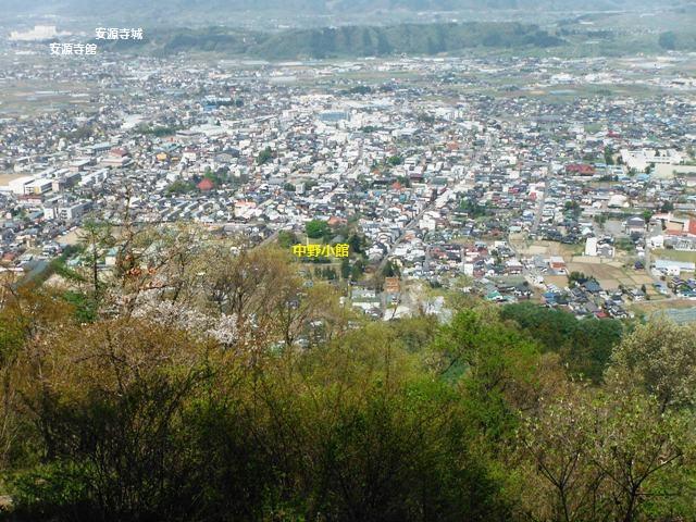 鴨ヶ岳城・鎌ヶ岳城(中野市) (81)