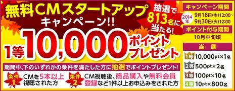 ハピタスCM動画キャンペーン
