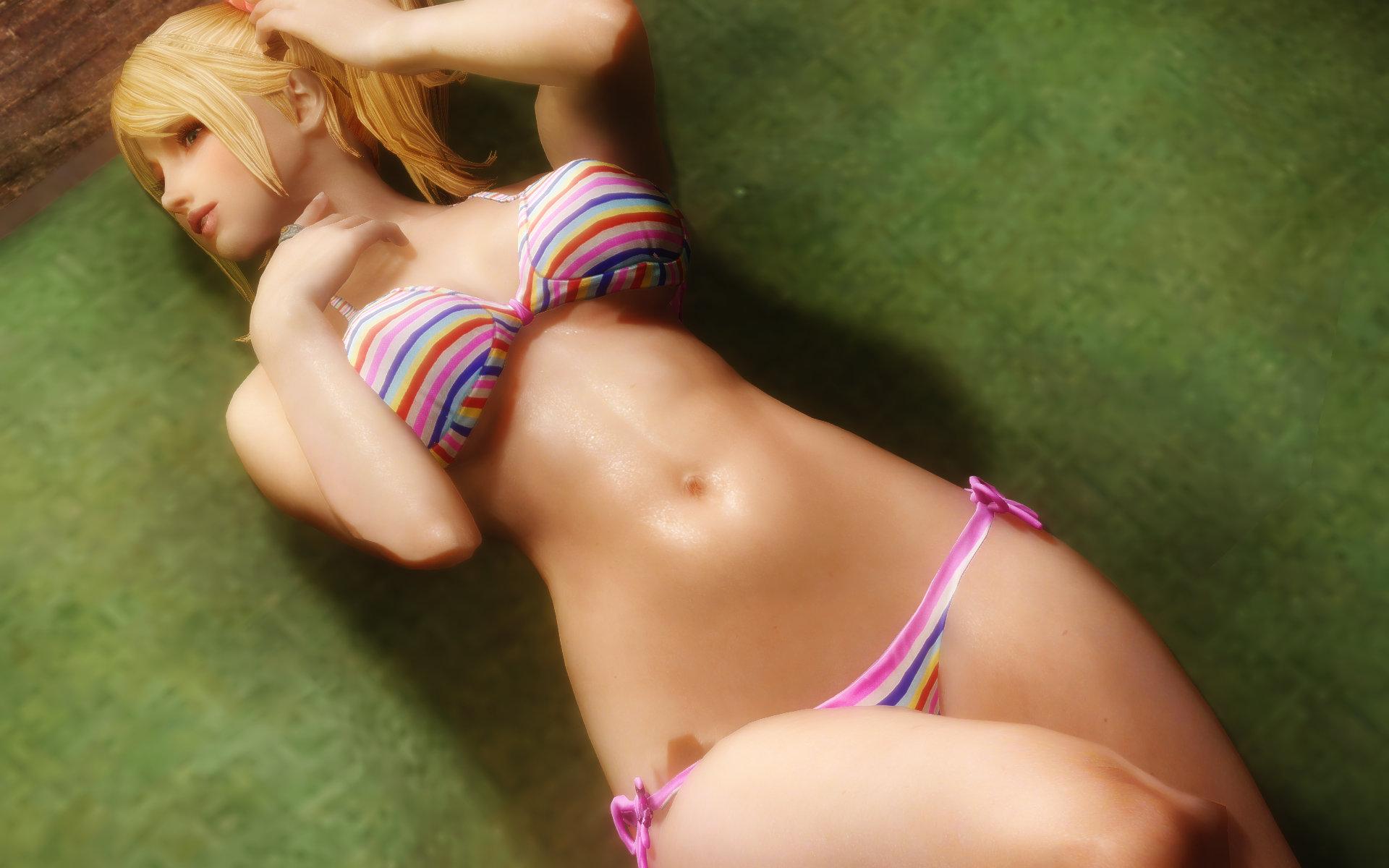 Lollipop Chainsaw Juliet Bikini 画像3