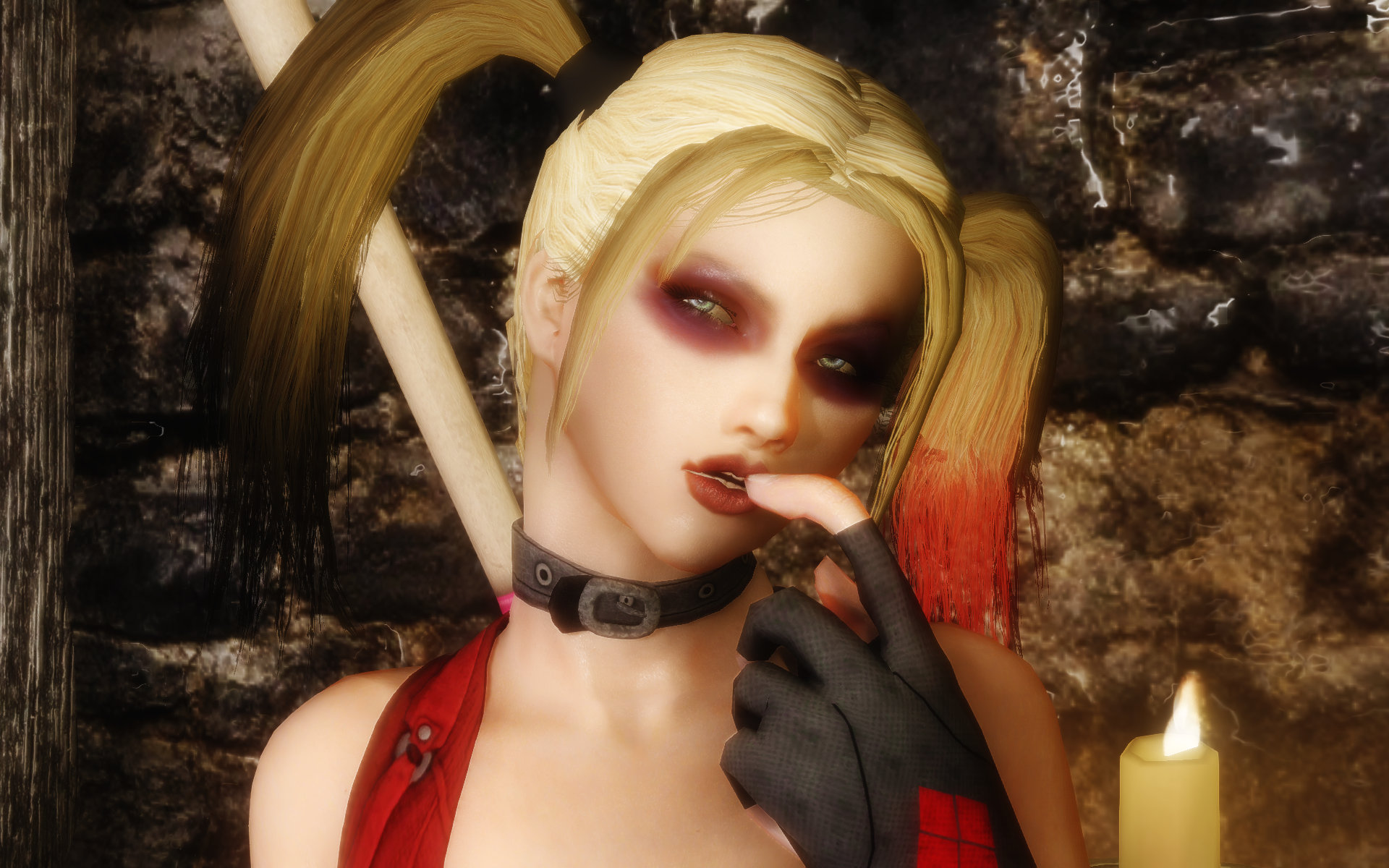 Harley Quinn Red Rouge