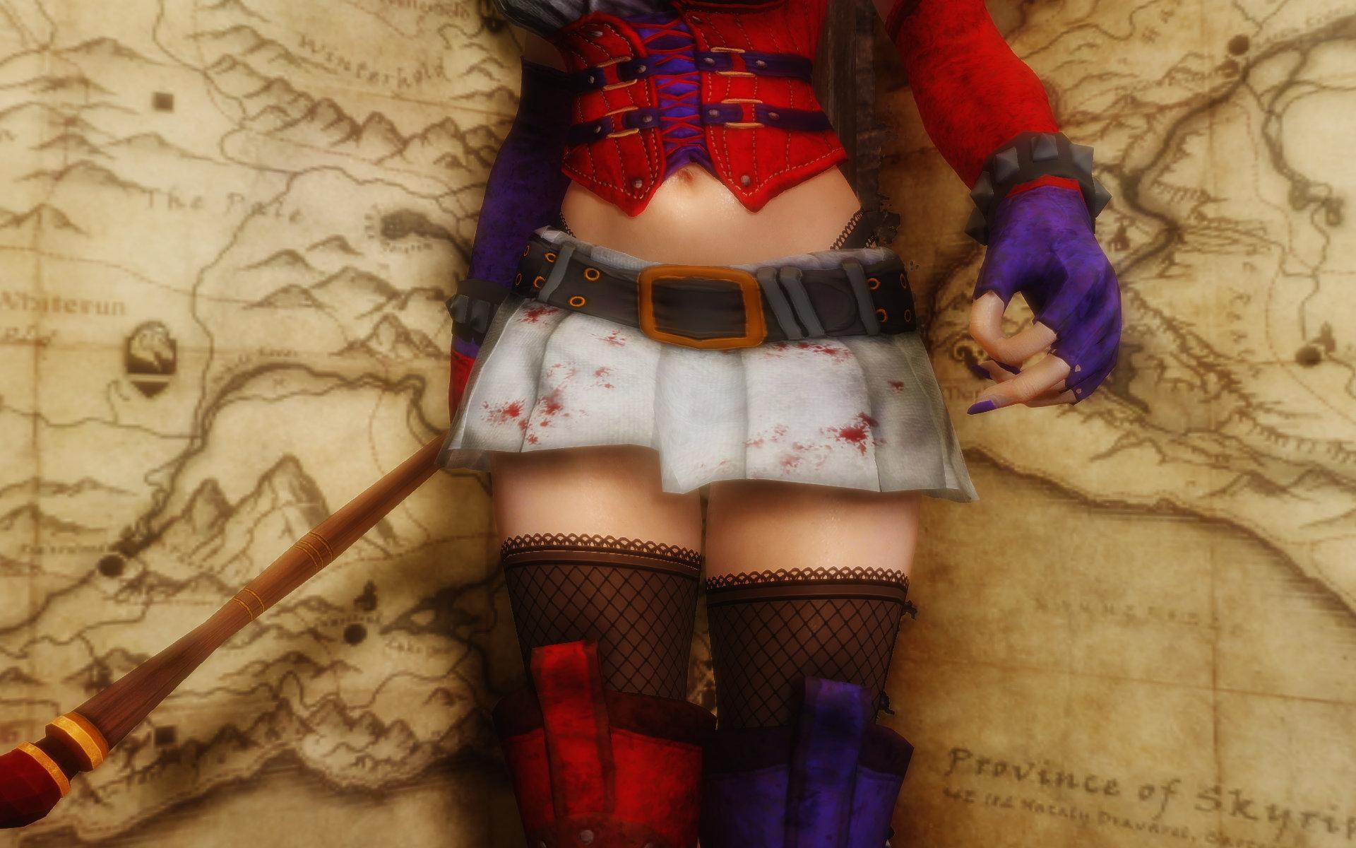 Harley Quinn Arkham Asylum Outfits