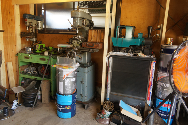 ヒノモトロータリーベース 日野十日町機関区の機械加工場