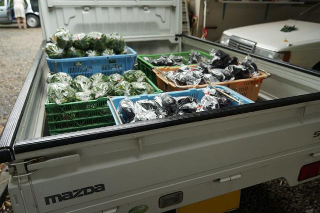 日野の直売所にもってく野菜