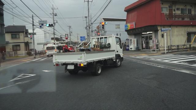 タイタンダッシュ、旧国道20号から川崎街道に入る