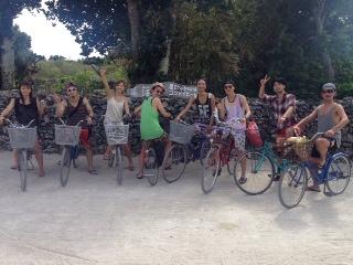 自転車、集合