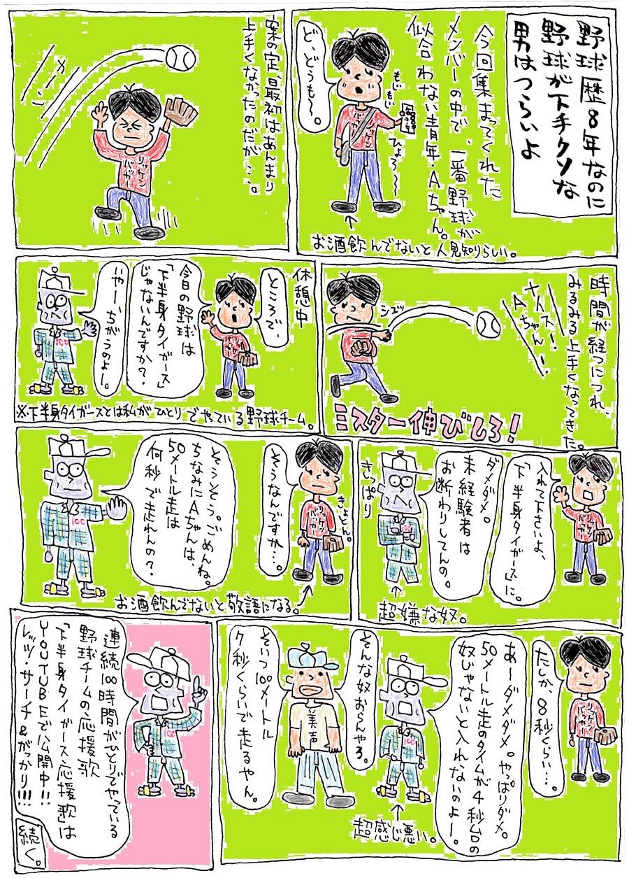 ブログ漫画 野球2