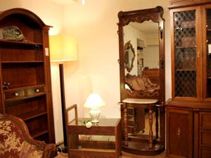 Pulaski Furniture ホールスタンド 鏡台 玄関 クラシカル