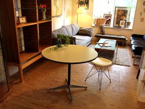 ハーマンミラー社 イームズ ラウンドテーブル コントラクトベース オフィス家具