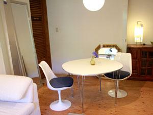 フリッツ・ハンセン スーパー楕円テーブル Bテーブル スパンレッグ