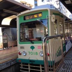 都電荒川線早稲田駅