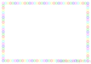 ... シンプルな水玉のフレーム : 写真 フレーム 素材 シンプル : すべての講義
