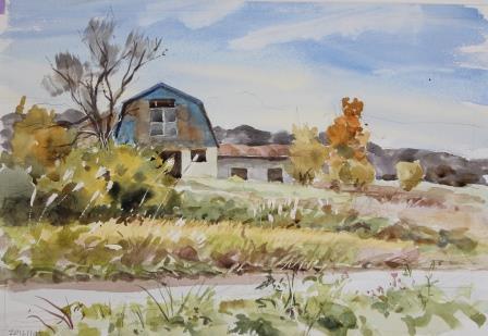 8牧舎の秋