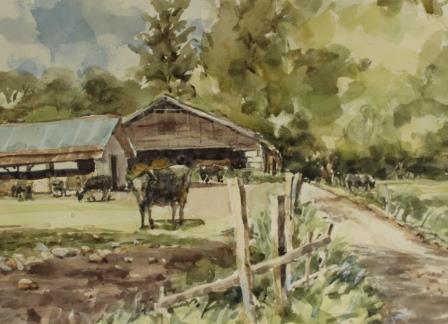 新緑の農場
