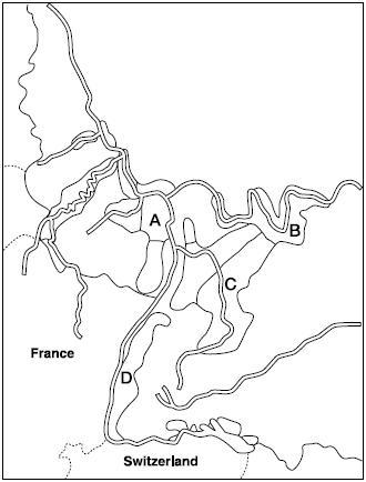 ドイツ産地地図