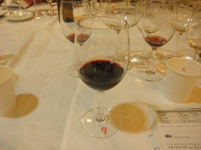 7番目赤ワイン