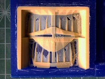 ゴールデンオーガの歯 簡易切削(仕上げ)