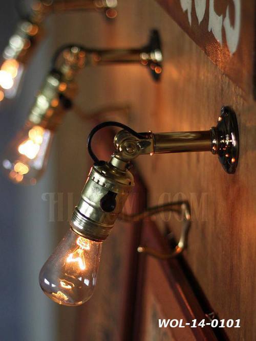USAヴィンテージサークルF社製アルミソケット&角度調整付ミニブラケットC/アンティーク工業系照明壁掛ランプ/インダストリアル 店舗設計 輸入 製作 販売 リノベーション