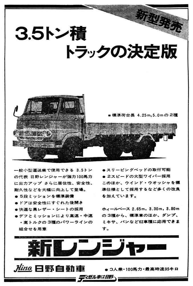 1968_Hino Ranger_KM