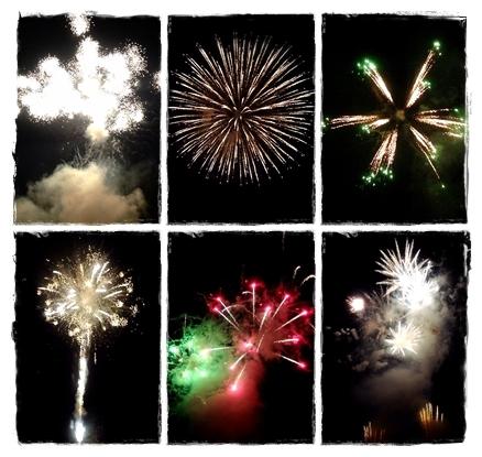西米良村やまびこ花火大会