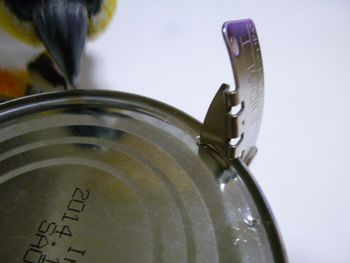 付属の缶きり