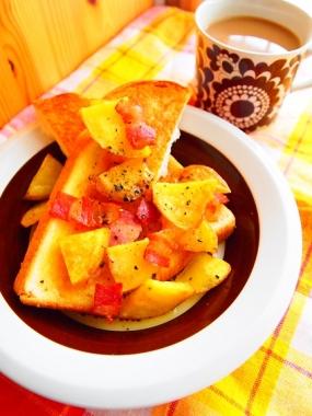 German potato toast