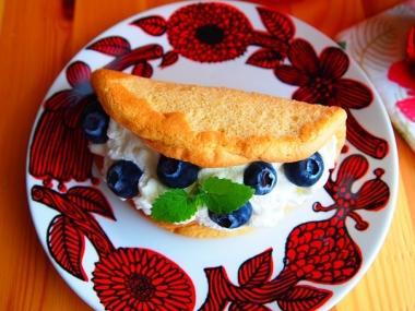 omelet cake