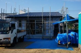 屋根葺き後1