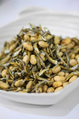 節分豆と煮干しのポリポリおつまみ
