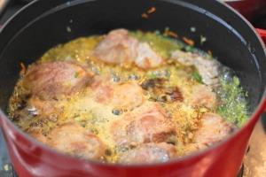 豚肉の黒ビール煮込み3