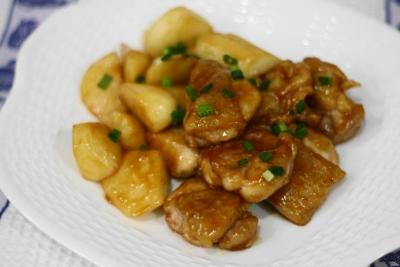 鶏肉と長芋のくわ焼き1