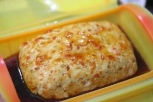 鶏胸肉と豆腐のヘルシーミートローフ7