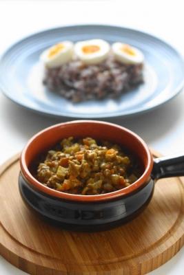 レンズ豆のヘルシースパイシーカレー1