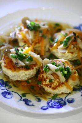 豆腐ハンバーグ1